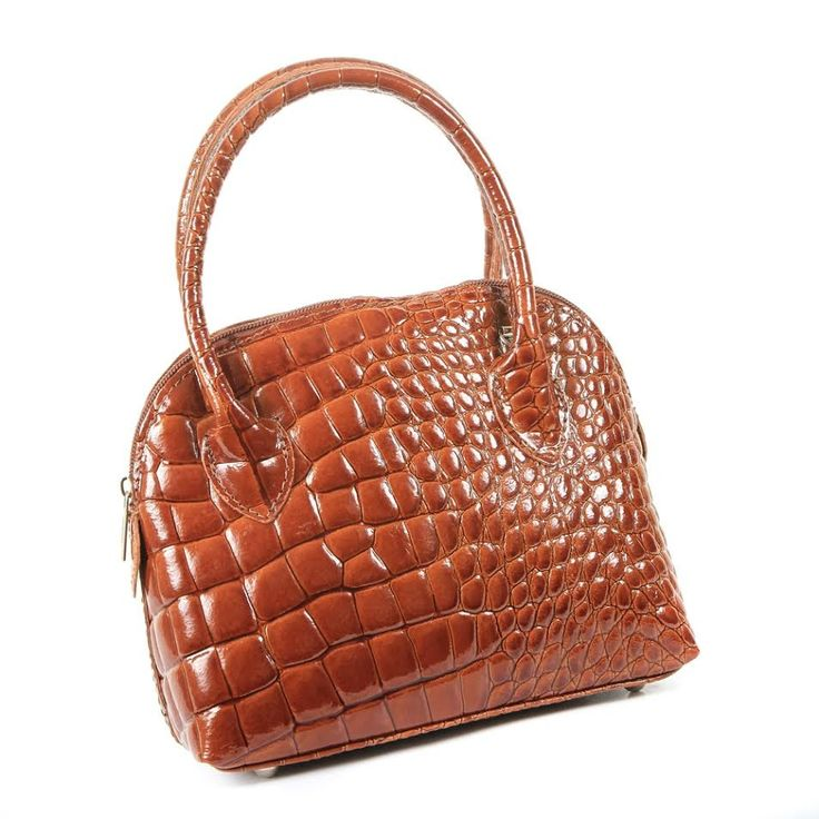 """Did somebody say microbag?! """"Lonada"""" did! Genuine leather from Florence, Italy with a super stylish crocodile design. Get yours now www.borsetta.london xx Hols xx"""