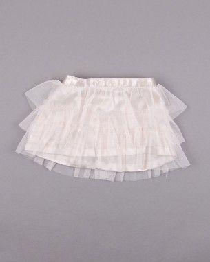 Falda de tul color Beige marca Sfera (talla 6-9 meses)  http://www.quiquilo.es/catalogo-ropa-segunda-mano/falda-de-tul-color-beige-marca-sfera.html