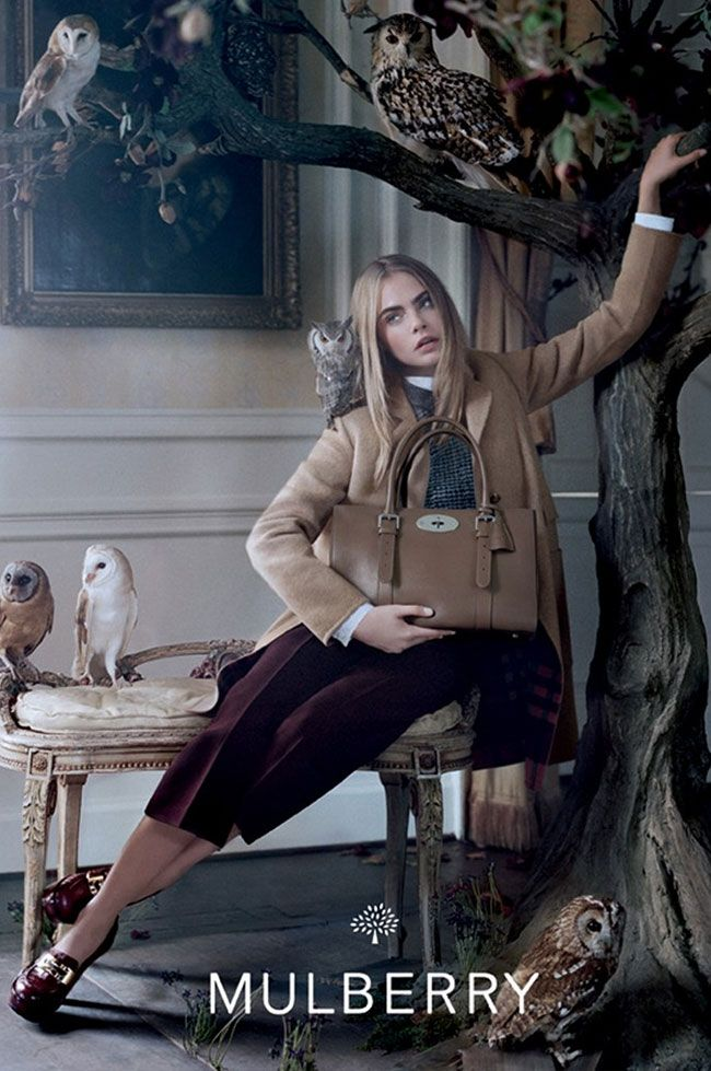 Cara Delevingne for Mulberry www.byoutifulyou.com/article/fashion/2013/6/25/cara-delevingne-for-mulberry--her-drumming-skills #fashion #celebrity #model #mulberry #music