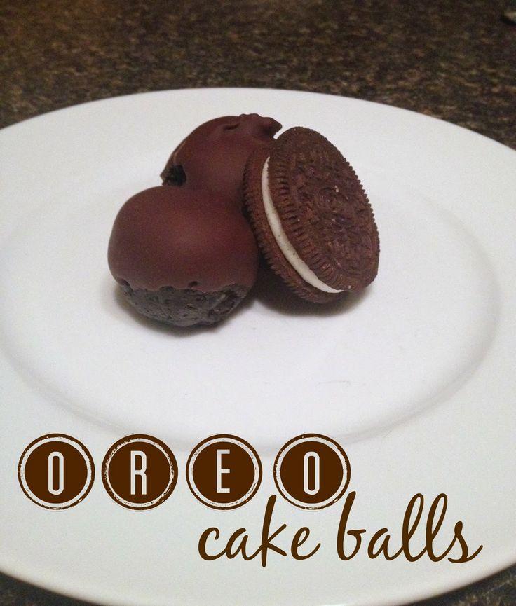 Oreo Cake Balls Recipe Pinterest