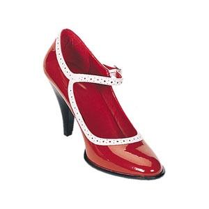 Betty 01 Red ini Heel Shoe