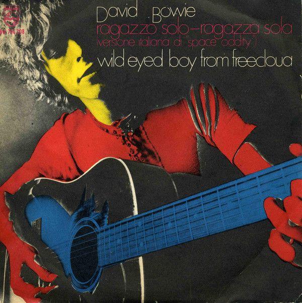 """David Bowie - Ragazzo Solo, Ragazza Sola (Versione Italiana Di """"Space Oddity"""")"""
