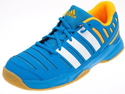 Adidas-Court-stabil-handbaal-jr-Chaussures-handball-Bleu-ciel-Taille-34-0