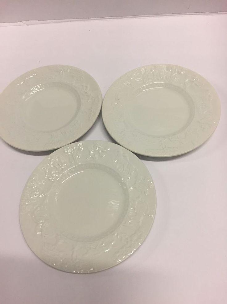 "Rare! 3 Desert Plates 6.5"" Hunt Club  T.G. Green Church Gresley Pottery England  | eBay"