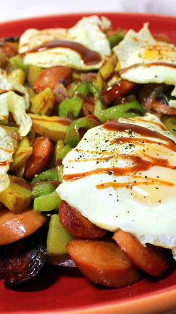 ... thought Eggs on Pinterest | Chorizo sausage, Fried eggs and Red beets