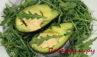 Авокадо с хумусом (Кулинарный поединок)