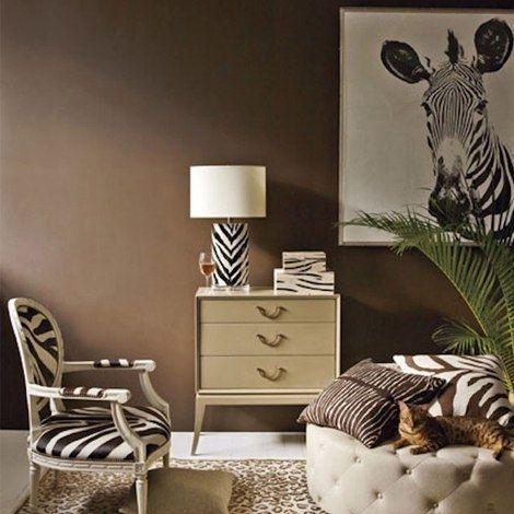 Рисунок зебры в интерьере - Дизайн интерьеров | Идеи вашего дома | Lodgers