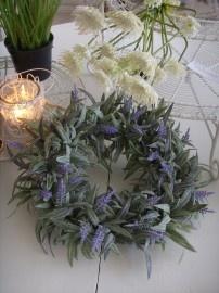 Lavendel krans ca. 25 cm
