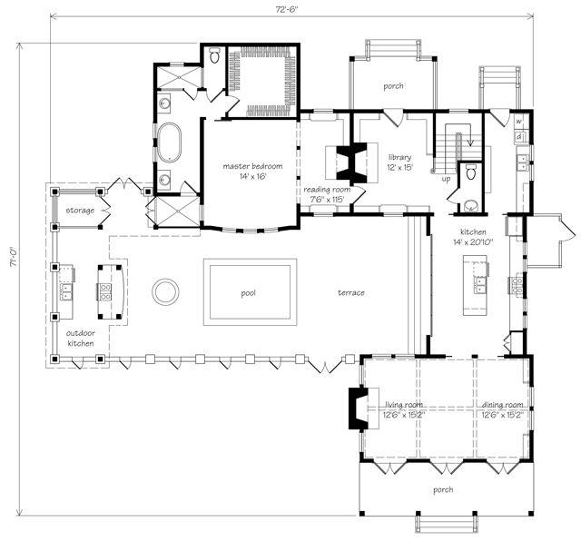 Port Royal Coastal Cottage - Allison Ramsey Architects, Inc.   Southern Living House Plans