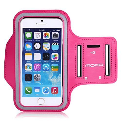 [Lifetime Hassle-Free Warranty] MoKo Sports Armband for Apple iPhone 6 4.7 - Key holder Slot, Perfect Earphone Connection while Workout Running, MAGENTA (Compatible with Cellphones up to 5.2 Inch, will Not Fit iPhone 6 Plus) MoKo http://www.amazon.com/dp/B00ID1I7XK/ref=cm_sw_r_pi_dp_FGkGub1WF1CV9