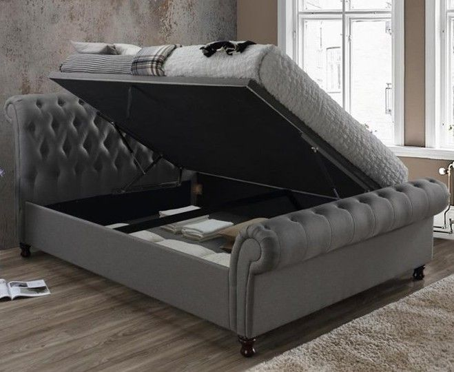 Hydraulic Storage Beds Ottoman Storage Bed Sleigh Beds Bed Storage