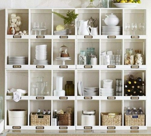 um.. seriously organised AND beautifulButler Pantries, Open Shelves, Kitchens Organic, Organic Ideas, House, Cubbies, Storage Ideas, Pottery Barns, Kitchens Storage