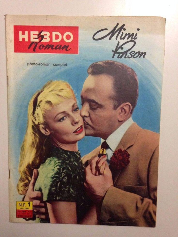 HEBDO ROMAN N°13 1960 MIMI PINSON / ROBERT HIRSCH - GRANELLI