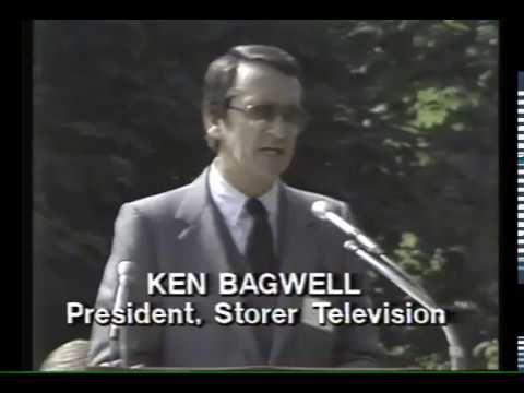 WTVG gets a New Building Ken Bagwell Speaks Ken Bagwell President of Storer Television speaks at the groundbreaking ceremony for the new studios of WTVG at 4247 Dorr Street. Ken Bagwell was the first program director of KLEE, Houston Texas, The first TV station in Houston.