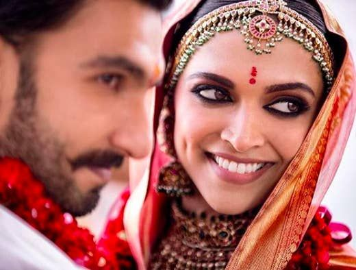 Ranveer And Deepika Posted Super Happy Pictures From Their Wedding And My Heart Can T Take It South Indian Wedding Hairstyles Indian Wedding Photography Indian Wedding Pictures