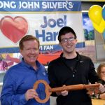 America's Largest Quick-Service Seafood Restaurant Celebrates Local College Student and Long John Silver's Fanatic During Surprise Lunch…