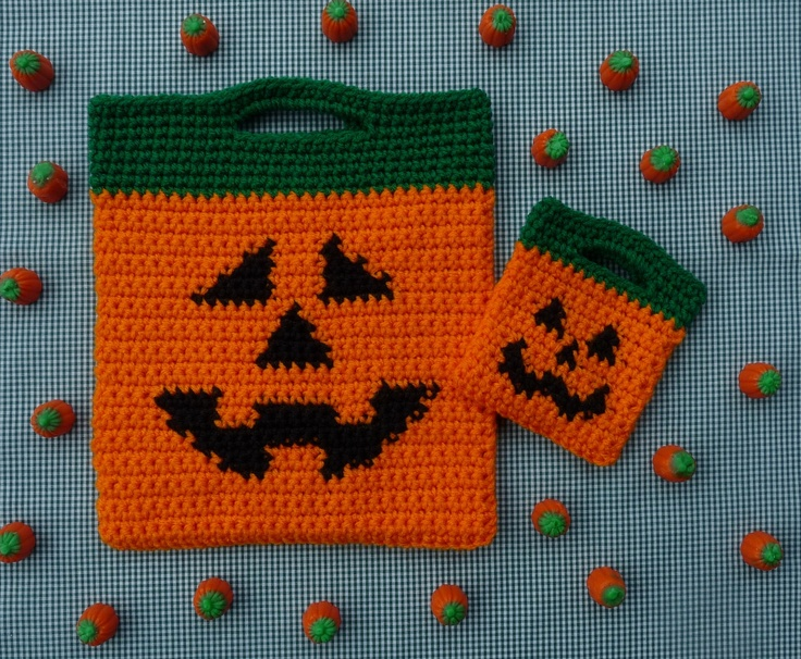 Jack O Lantern Halloween Bags