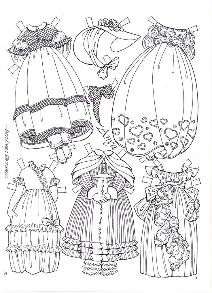 coloring pages dolls - photo#46