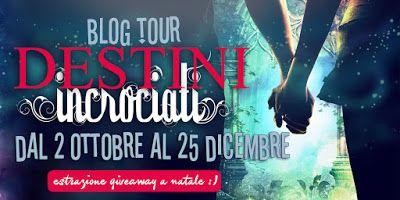 """Leggere Romanticamente e Fantasy: BlogTour Destini Incrociati -  1° tappa """"Gli Occhi..."""