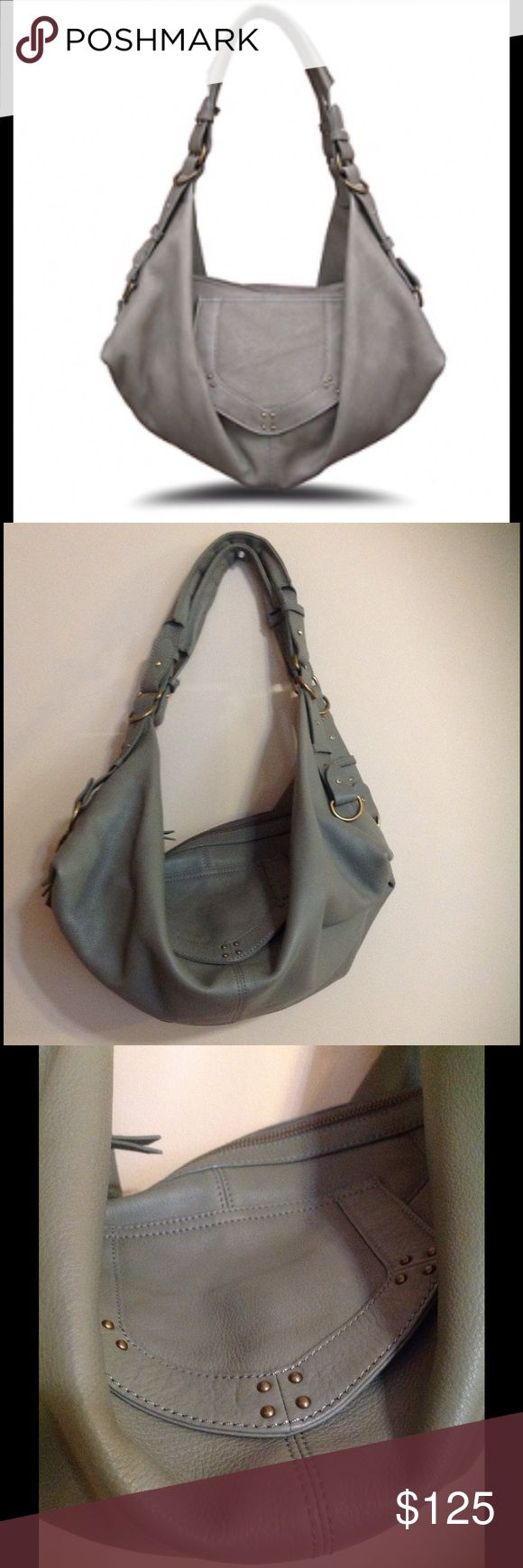Hayden Harnett leather. Hobo bag Gorgeous color and high quality leather. Great condition other than the slight marks shown in pic 4. Hayden Harnett NY Bags Hobos