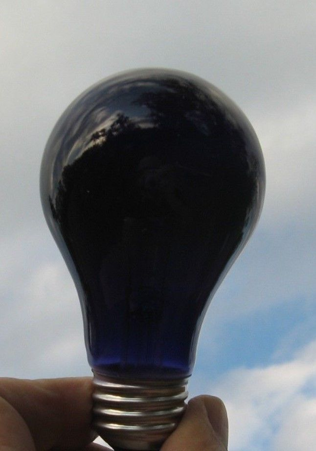 60w black light party light bulb new in box - Black Light Bulbs