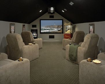 Bonus Room Design Ideas, Pictures, Remodel, And Decor   Page 4