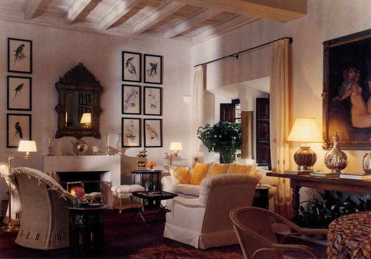 Marella Agnelli Home In Morocco Decoration Pinterest