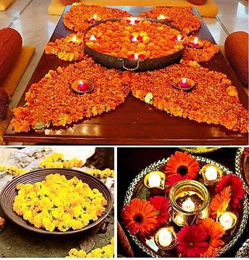 Indian Wedding Centerpiece Ideas