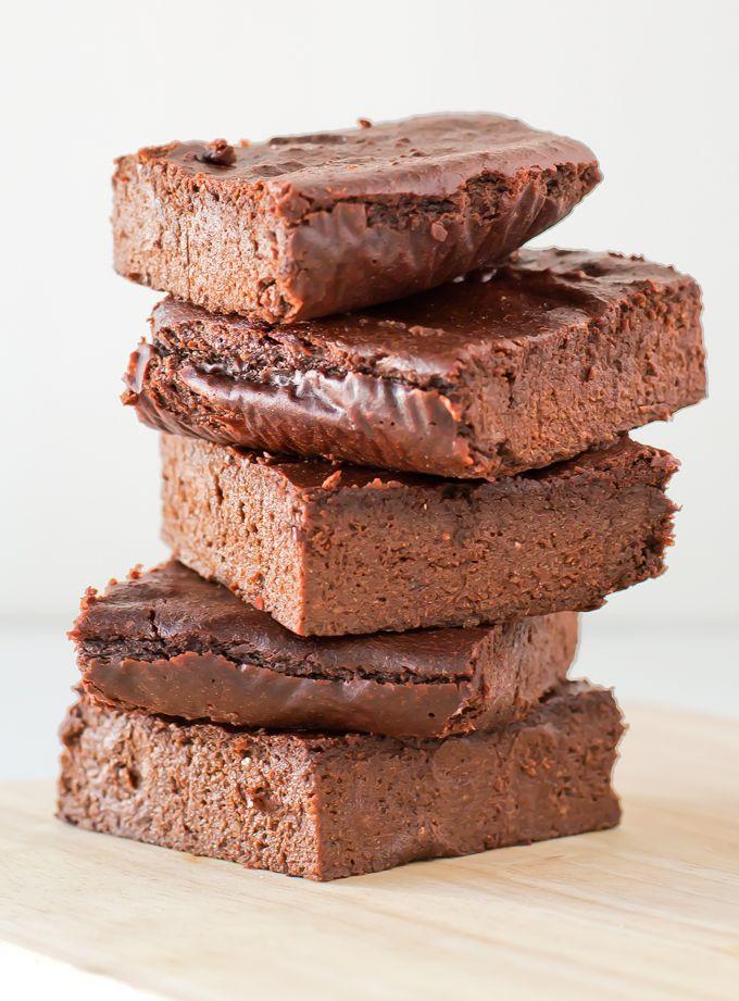 Brownie Vegano Sin Gluten | http://danzadefogones.com/brownie-vegano-sin-gluten/