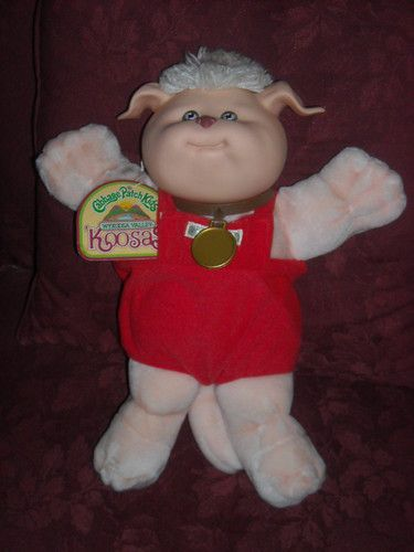 Cabbage patch kids koosas from 1980s