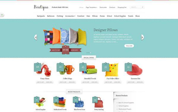 23 mejores plantillas de #WordPress de comercio electrónico #ecommerce