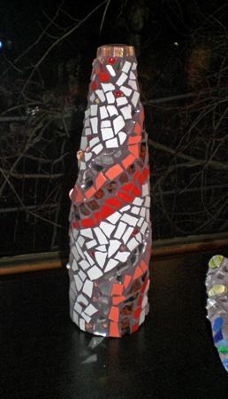Mosaikvase von Ludwina Simmet