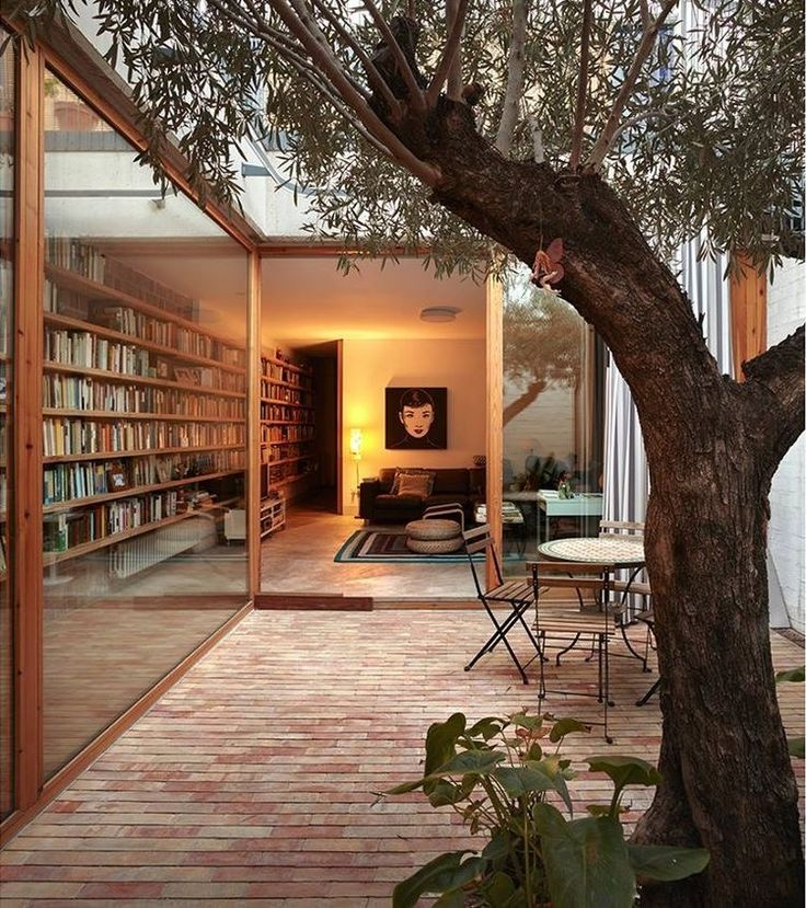 books + indoor/outdoor