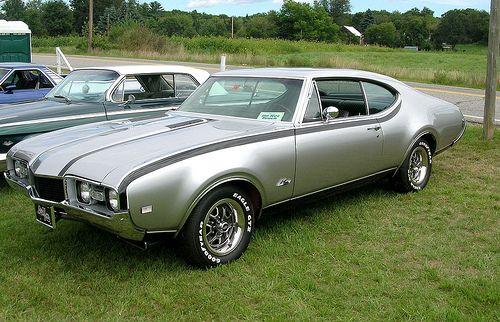 1968 Hurst/Olds 442.