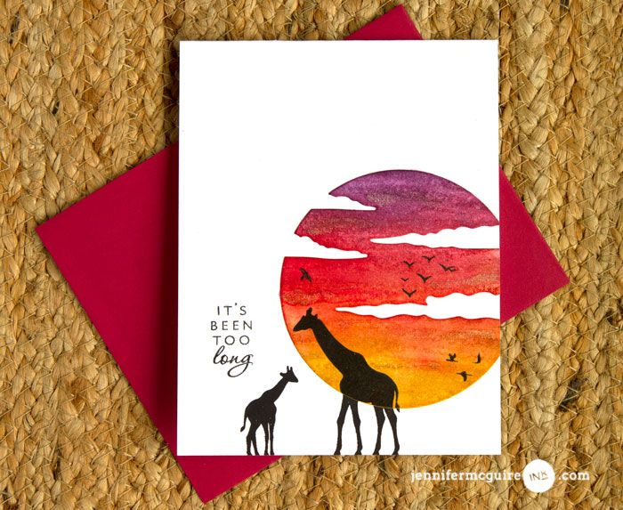 110 best cards africa hero arts images on pinterest animal cards