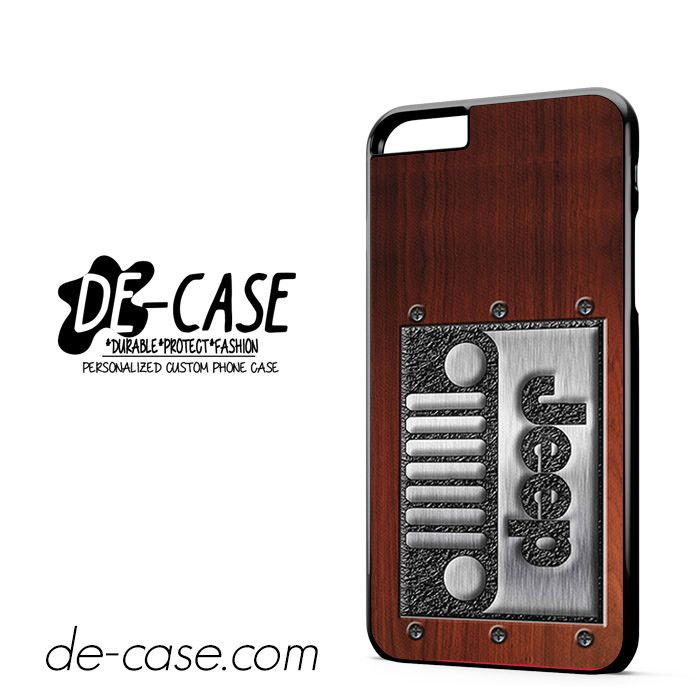 Embossed Steel Jeep DEAL-3932 Apple Phonecase Cover For Iphone 6/ 6S Plus