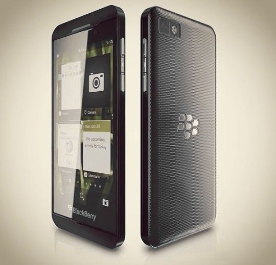 Blackberry Z10 gets its guts leaked before official unveil.