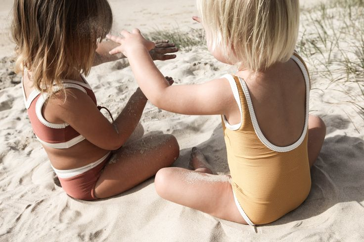 Mini Rib One Piece in Marigold   Zulu and Zephyr Mini Shop in store or online at www.saltliving.com.au #saltliving #zuluandzephyr #mini