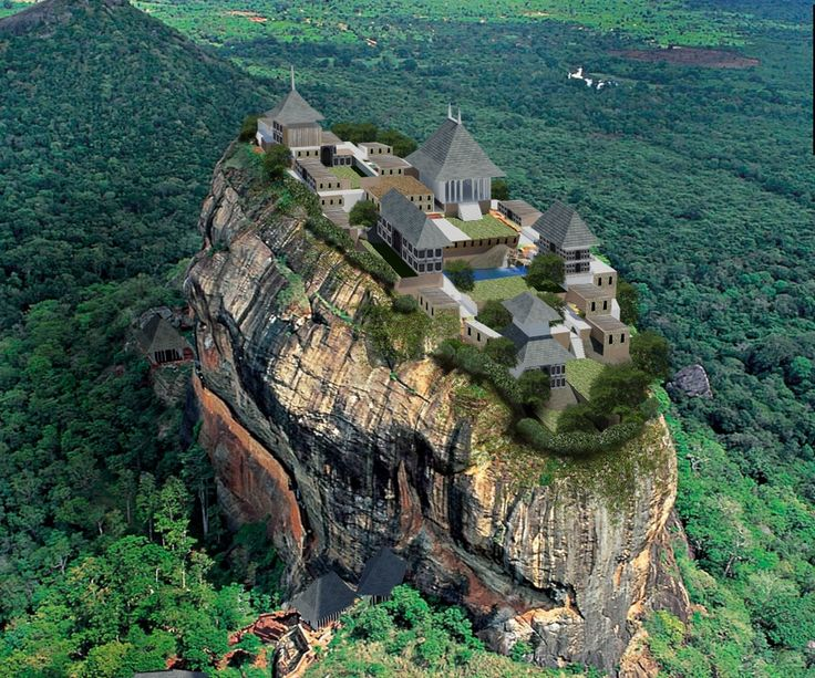 Sigiriya located in matale district central province sri for Bd du jardin botanique 50 bruxelles