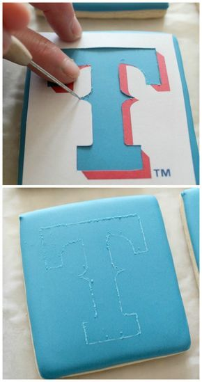How to make designs on/with royal icing and without a kopycake projector - The whole world just opened up to me!!