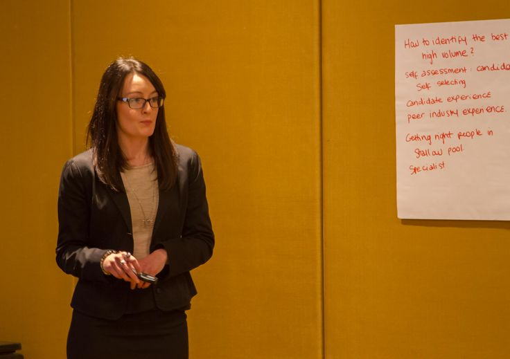 Nicole Russom, Senior Organisational Psychology Consultant at cut-e Australia runs a breakout session at ATC2015 on how cut-e helped Sunglass Hut used assessment to boost their attraction and selection process.