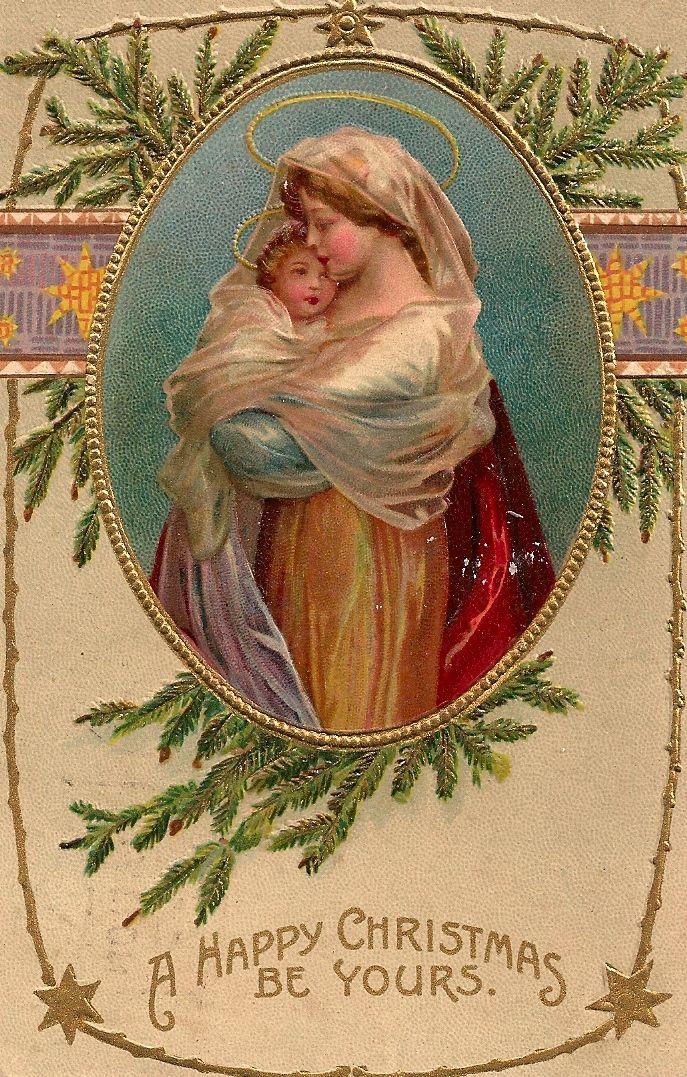 Vintage Christmas Postcard...                                                                                                                                                                                 More
