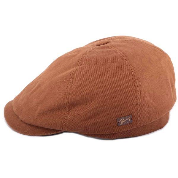 Casquette Plate Shapton Khaki Bailey Le style Bailey sur Hatshowroom.com #casquette #chapeau #bonnet