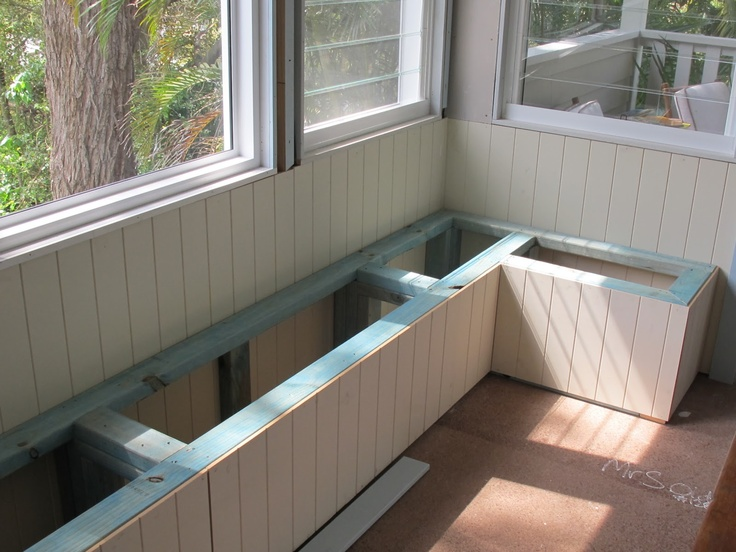 ... Built In Bench Seating For Dining Room: Dining Room   DIY Built In Bench