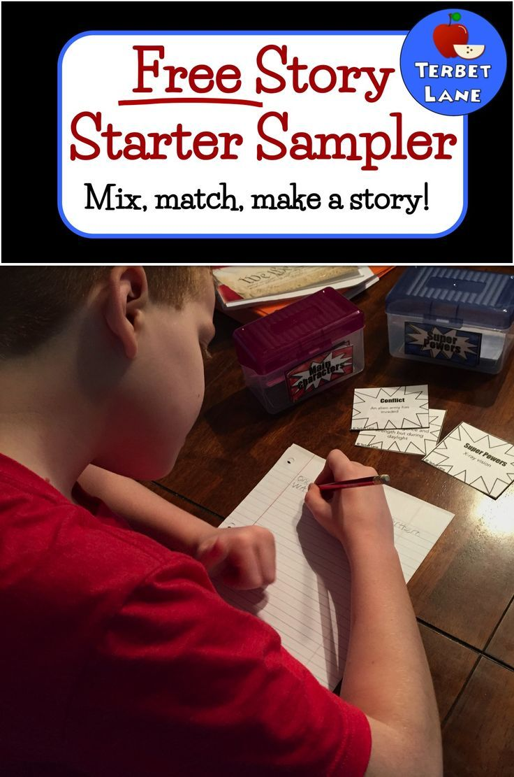 More than writing prompts, story starters teach story elements and imaginative writing. Click to try this free sampler!