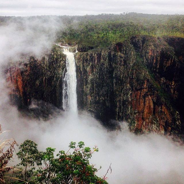 This mythical looking spot in Visit Queensland, Australia is actually the highest, permanent single-drop waterfall in Australia! Wallaman Falls are even better in real life, and they're just a two hour drive from Visit Townsville, Australia, in the Girringun National Park.