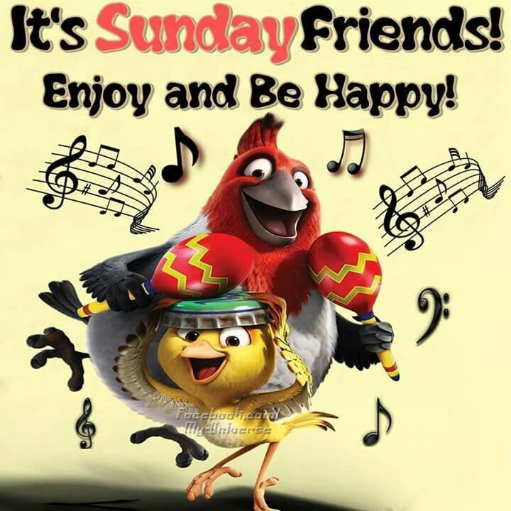 It's Sunday Friends! Enjoy And Be Happy!
