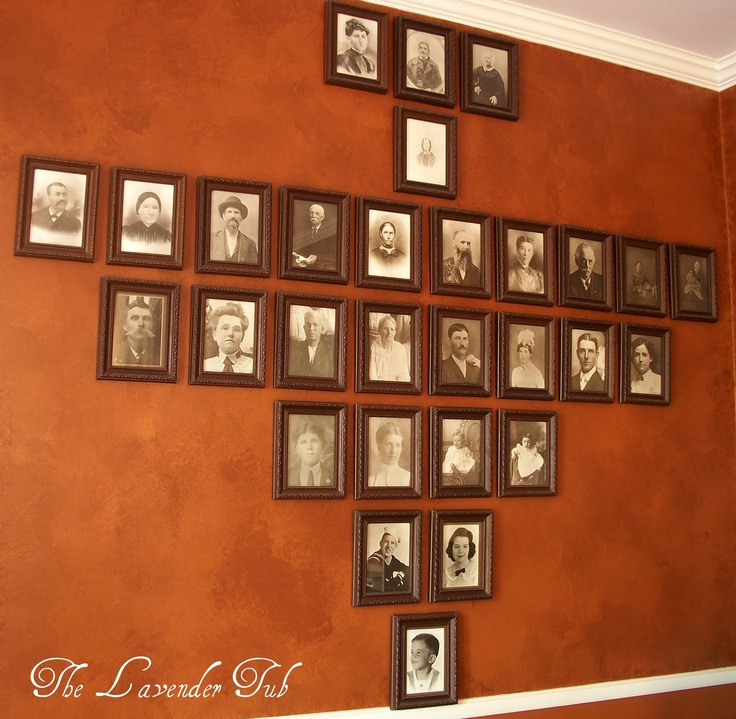 Ancestor Photos, Arranged By Generation