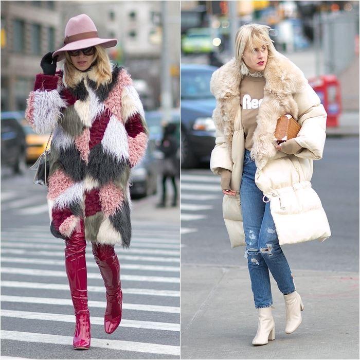 Уличный стиль Нью-Йорка на Неделе Моды осень-зима 2016-2017 | BONAMODA