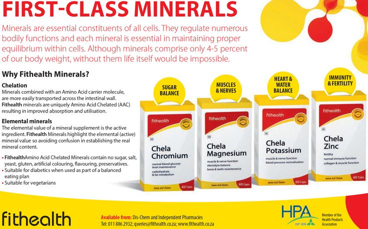 FIRST-CLASS MINERALS  Minerals are essential constituents of all cells. They regulate numerous bodily functions and each mineral is essential in maintaining proper equilibrium within cells. Although minerals comprise only 4-5 percent of our body weight, without them life itself would be impossible. www.fithealth.co.za